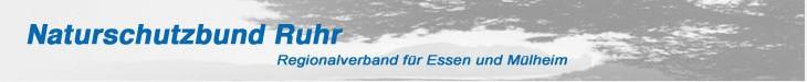 NABU Ruhr - Kopfzeile alte Homepage