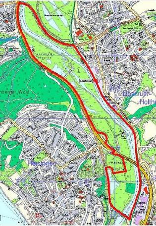 FFH-Gebiet Heisinger Aue © Grün und Gruga Essen