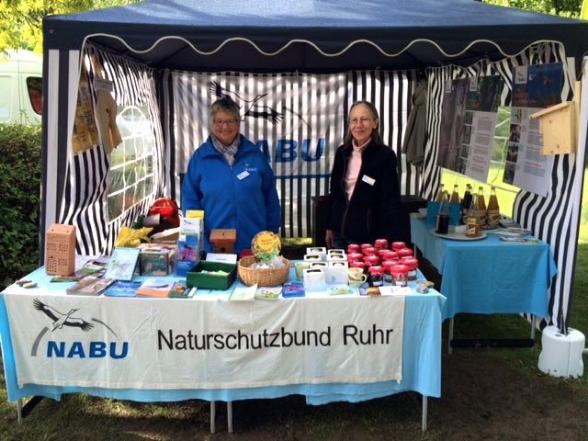 """NABU Ruhr bei """"Herbstlich Willkommen"""" - Foto © Jutta Rohde, NABU Ruhr"""