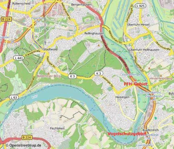 Karte © Openstreetmap.de
