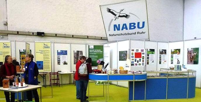 Infostand, Foto © B. Müller, NABU