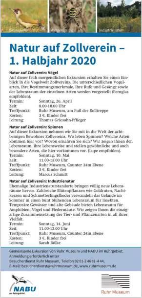 Natur auf Zollverein, © www.ruhrmuseum.de