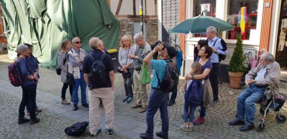 Exkursionsteilnehmer, Foto © Rainer Soest, NABU