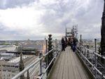 Köln, Dom, Gerüstbrücke, Foto © U. Eitner, NABU