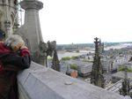 Köln, Dom, Blick vom Vierungsturm, Foto © U. Eitner