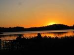 Sonnenuntergang (Biosphärenreservat Schaalsee), Foto © Renate Vogt, NABU