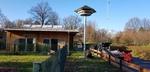 Aufbau Schwalbenturm, Foto © R. Soest, NABU